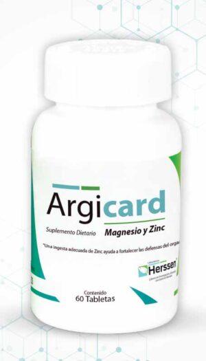 Argicard Suplemento Dietario Magnesio y Zinc